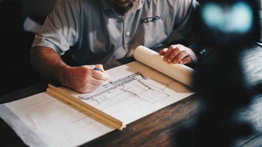 plannen maken gebouw