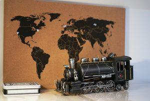 duurzame wereldkaart