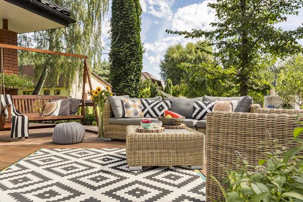 loungeset in je tuin